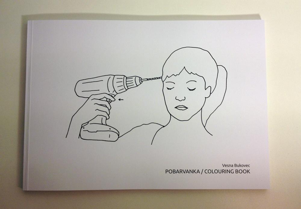 Vesna Bukovec: Pobarvanka/Colouring Book, mehka vezava