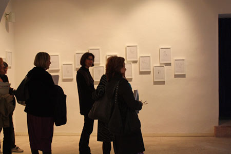 Opening of the exhibition E-motion to cohabit, Palazzo Forti, Verona, 2010