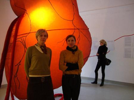 Secret Heart, exhibition opening