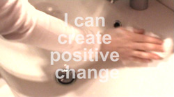 I can create positive change
