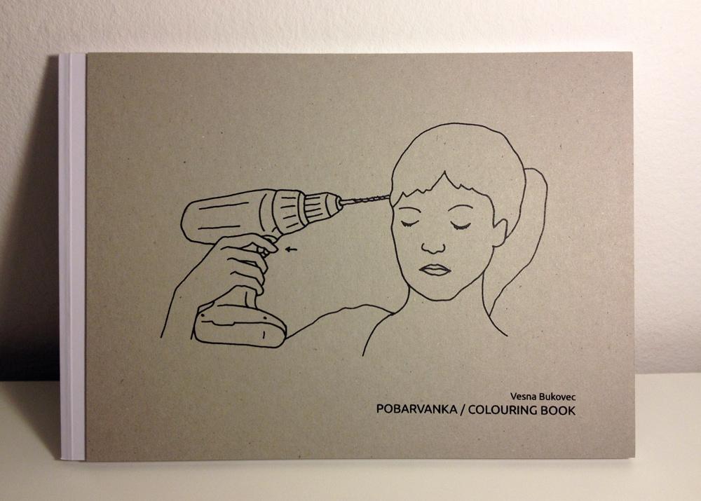 Vesna Bukovec: Pobarvanka/Colouring Book, trda vezava