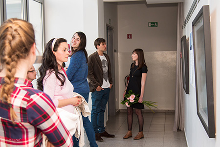 Otvoritev razstave, foto: Matevž Rudl