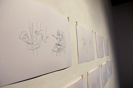 Vesna Bukovec: Exploanation, Alkatraz Gallery. Photo: Sunčan Stone.